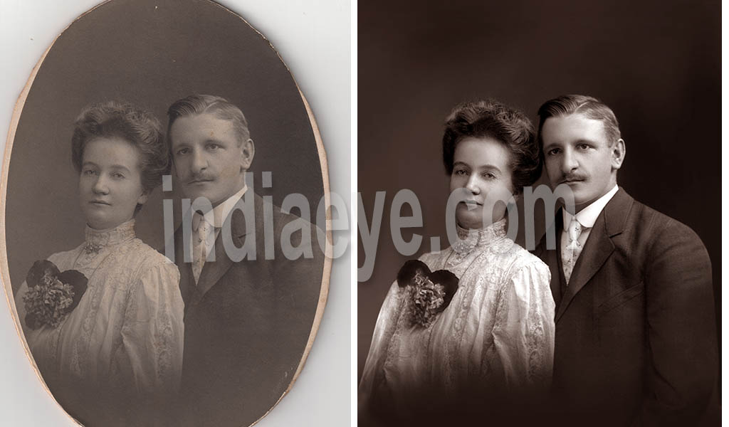 Restoring old photos
