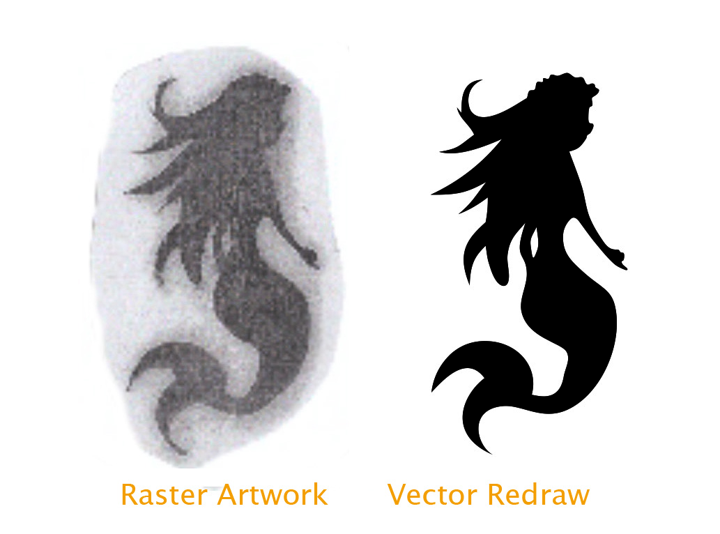 vector art convert jpg to vector raster editing services